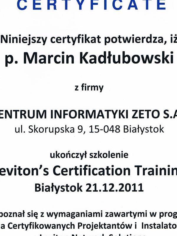 certyfikat-levitonorig