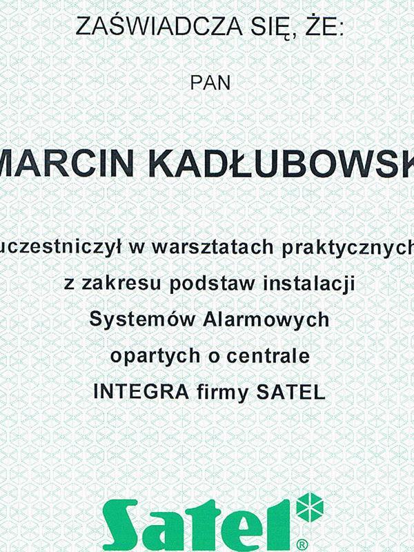 certyfikat-satelorig